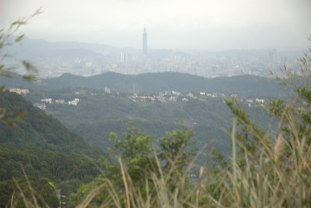 Taipei 101 op de achtergrond