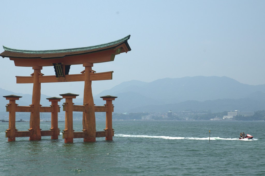Floating shrine Miyajima