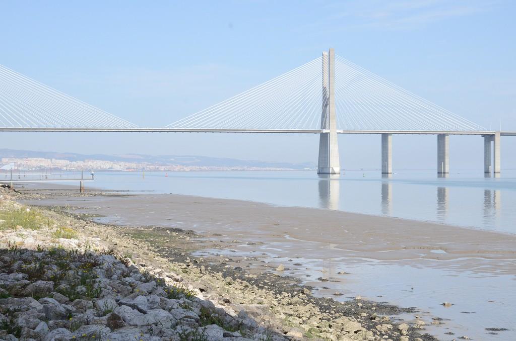 Expo Lissabon - Vasco da Gama bridge