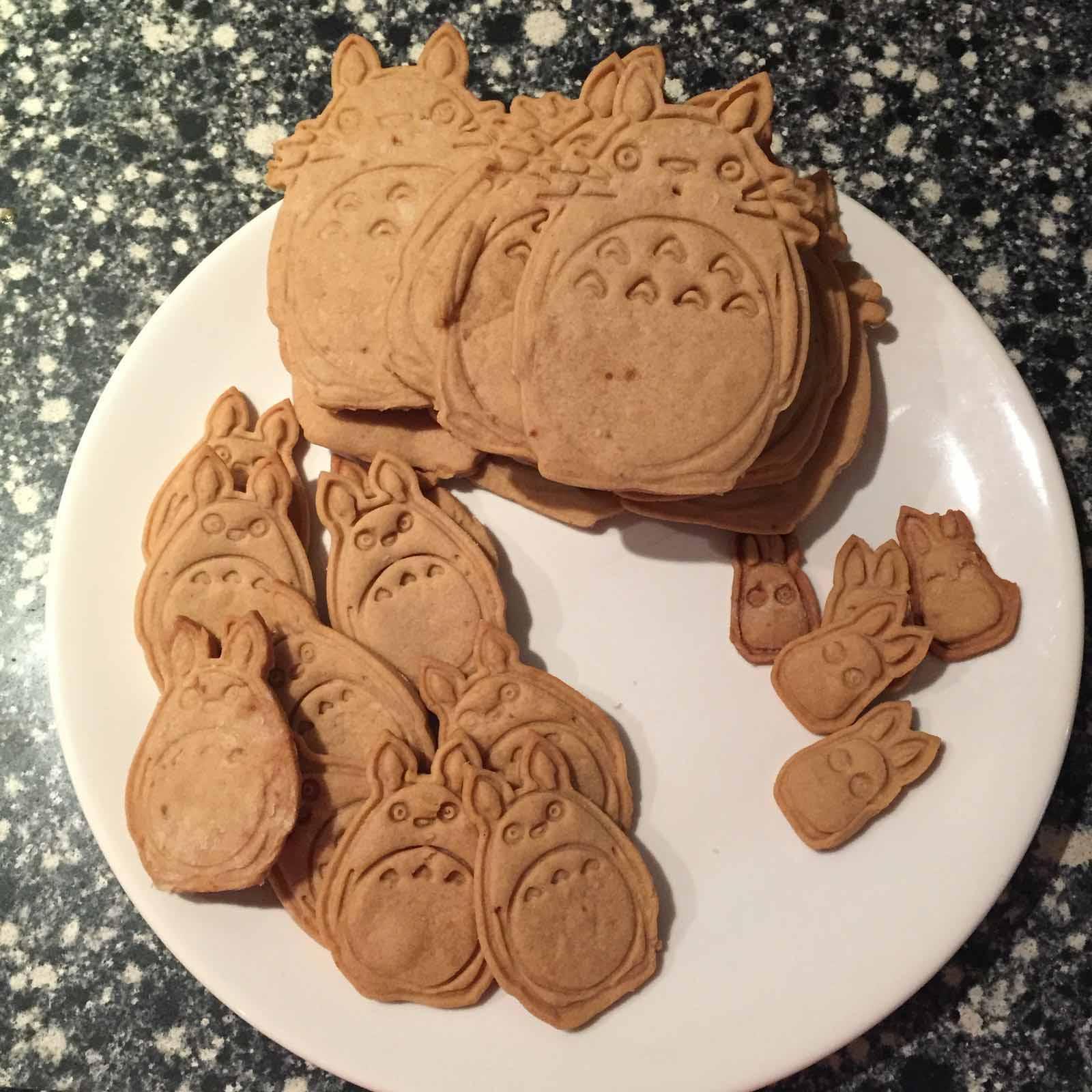 Neighbor Totoro zandkoekjes