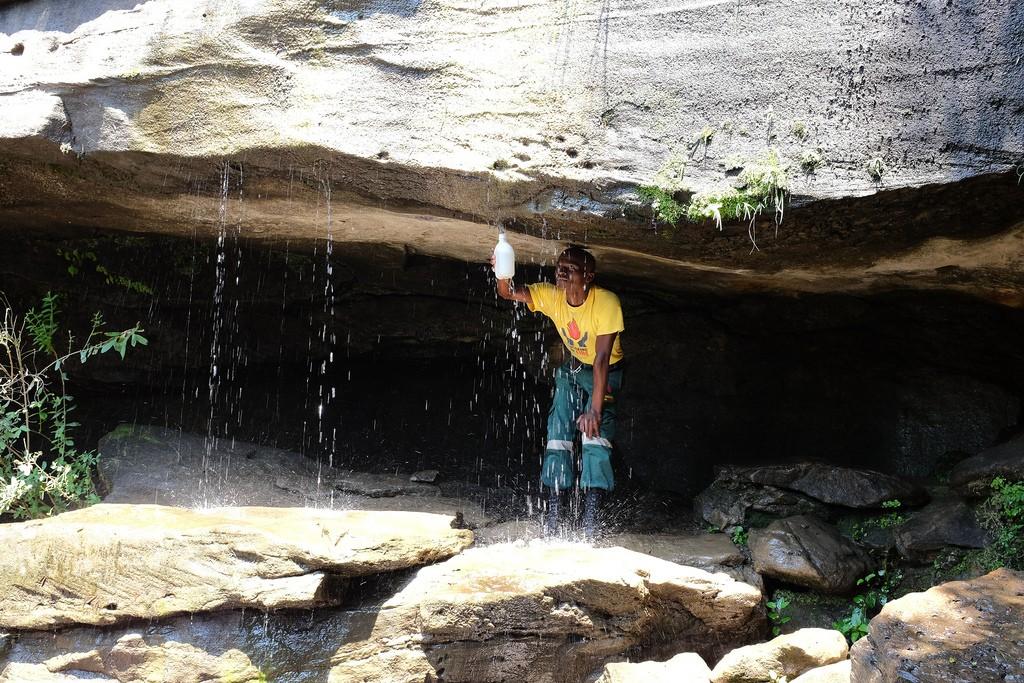 Drinkwater halen Tiger Falls