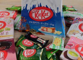 Kitkat smaken Japan