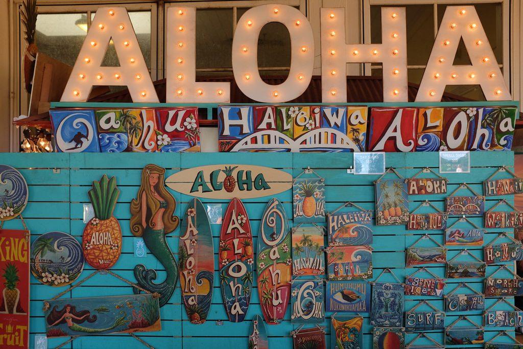 Aloha Honolulu Hawaii