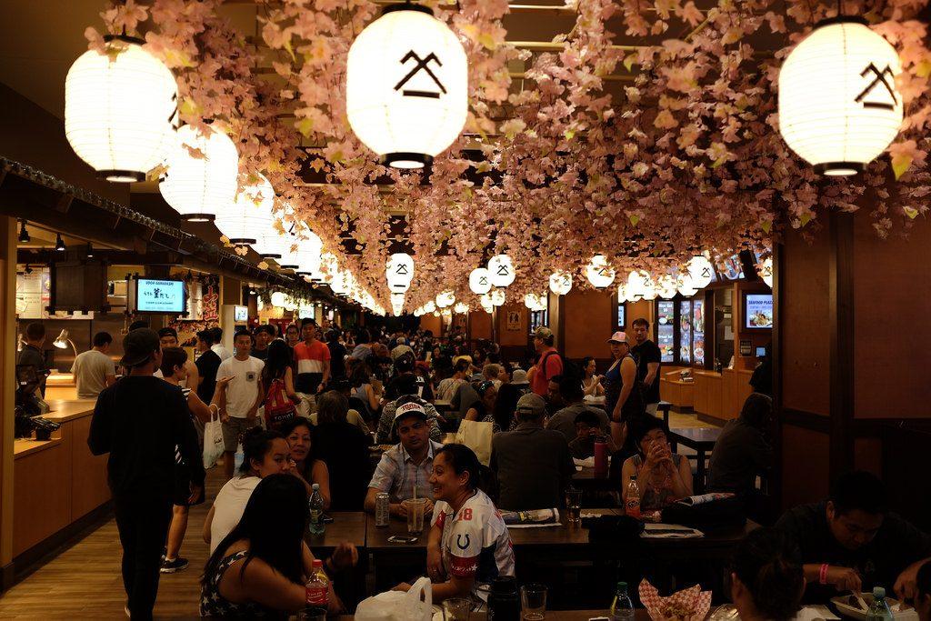 Japans foodcourt Honolulu Ala Moana