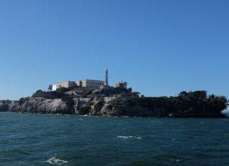Alcatraz eiland vanaf de boot
