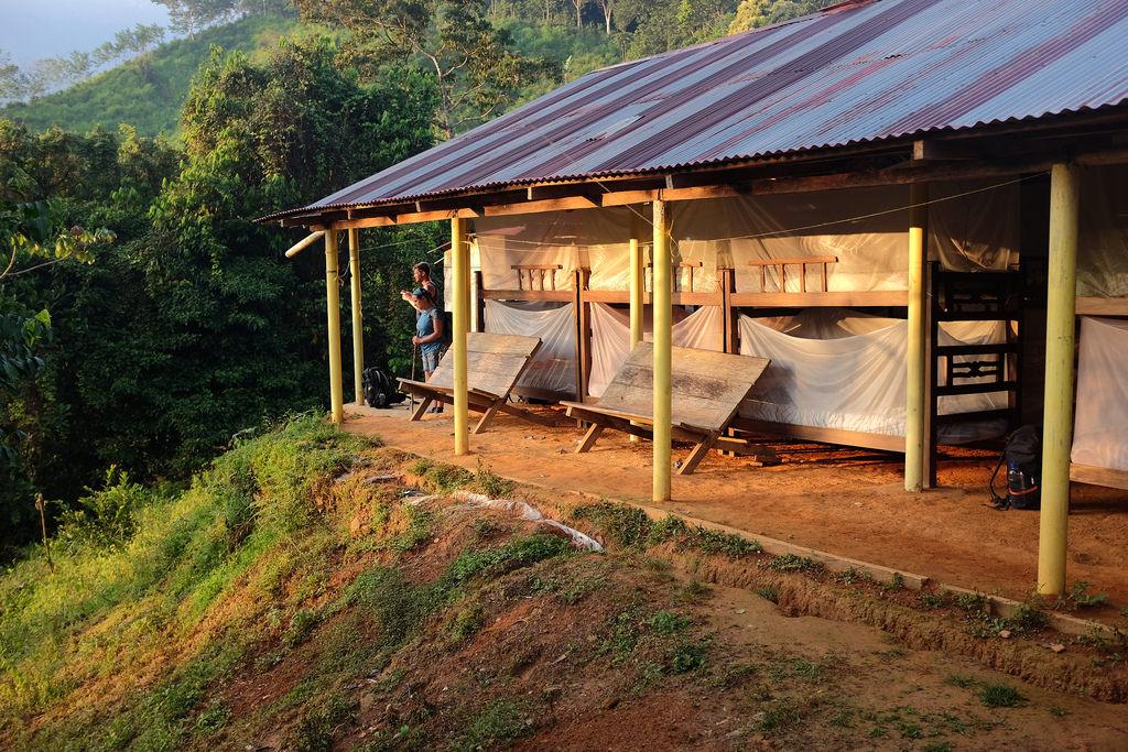 Ciudad Perdida Trekking slapen in de jungle