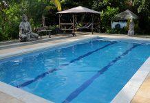 Zwembad om te leren duiken in Colombia Playa Tranquilo