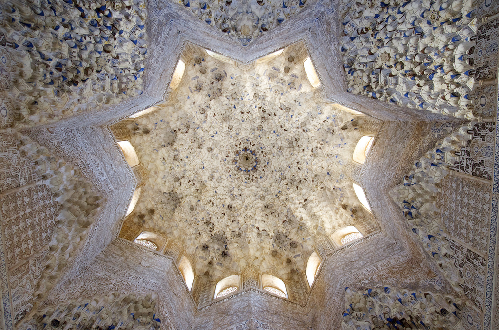 Ceiling in the Palacios Nazaries