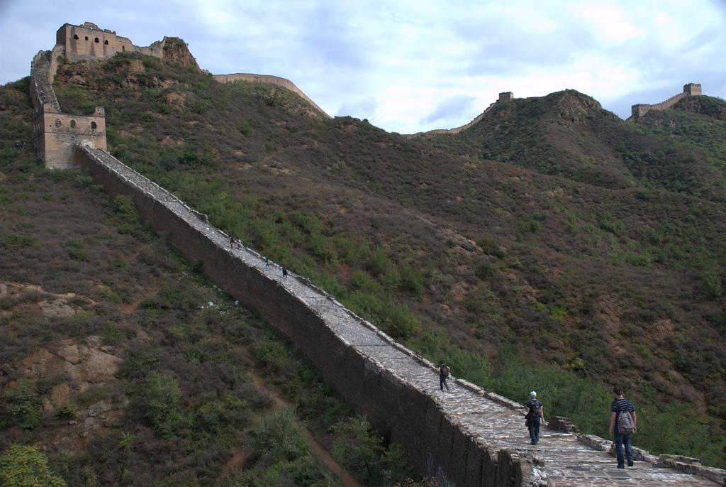 De Chinese muur is lang