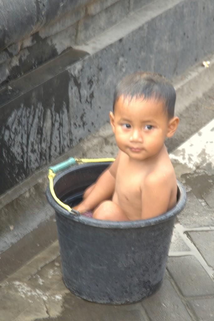 Kind in ton = waterbesparing