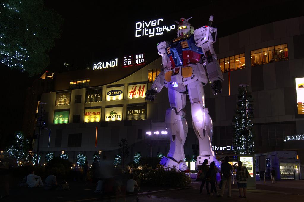 Life sized Gundam Robot