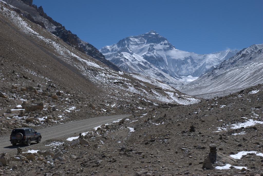 Mooi uitzicht op de Mount Everest