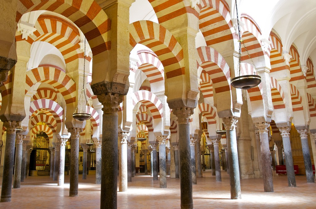 More Mezquita pillars