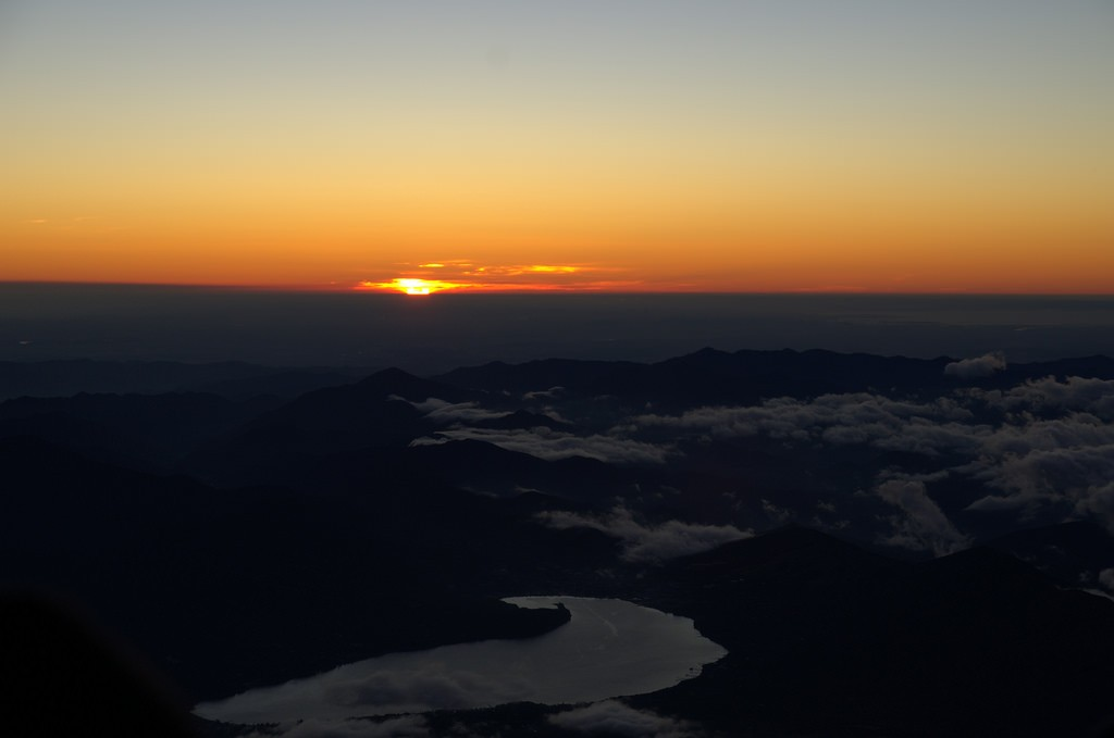Mount Fuji sunrise 1
