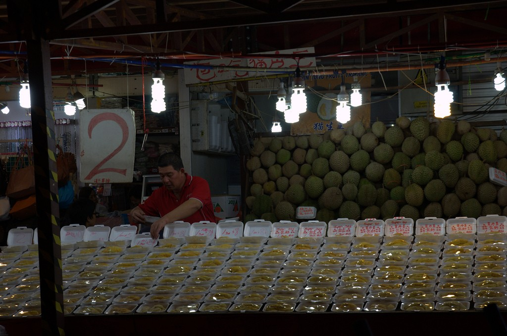 Selling Durian