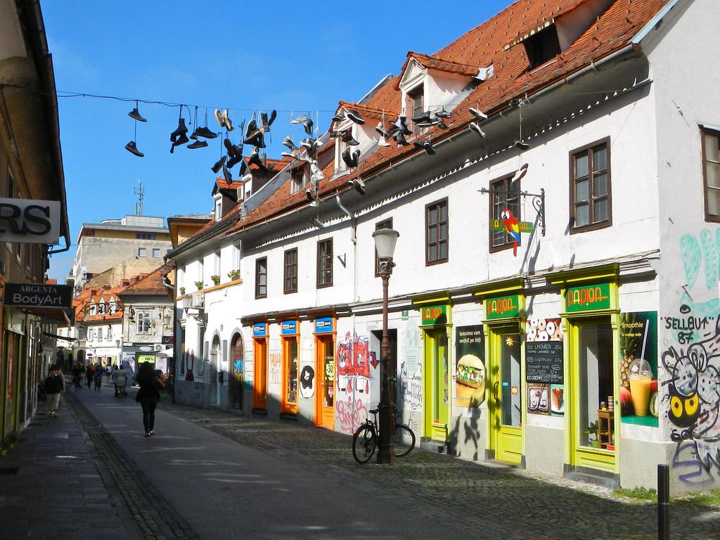 Shoes in Ljubljana