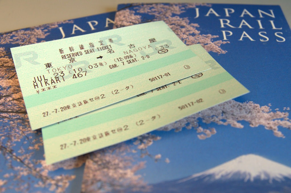 The Japan rail pass