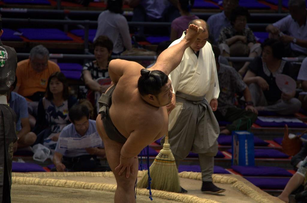 Versatile wrestler