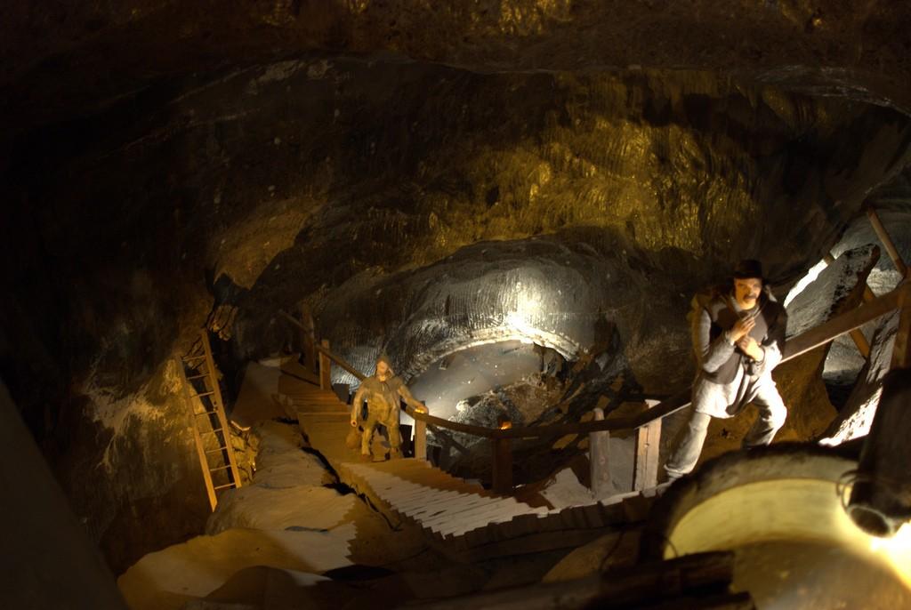 Wieliczka Salt Mine view