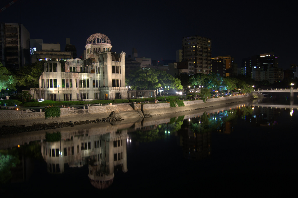 Atomic Bomb Dome by night 1