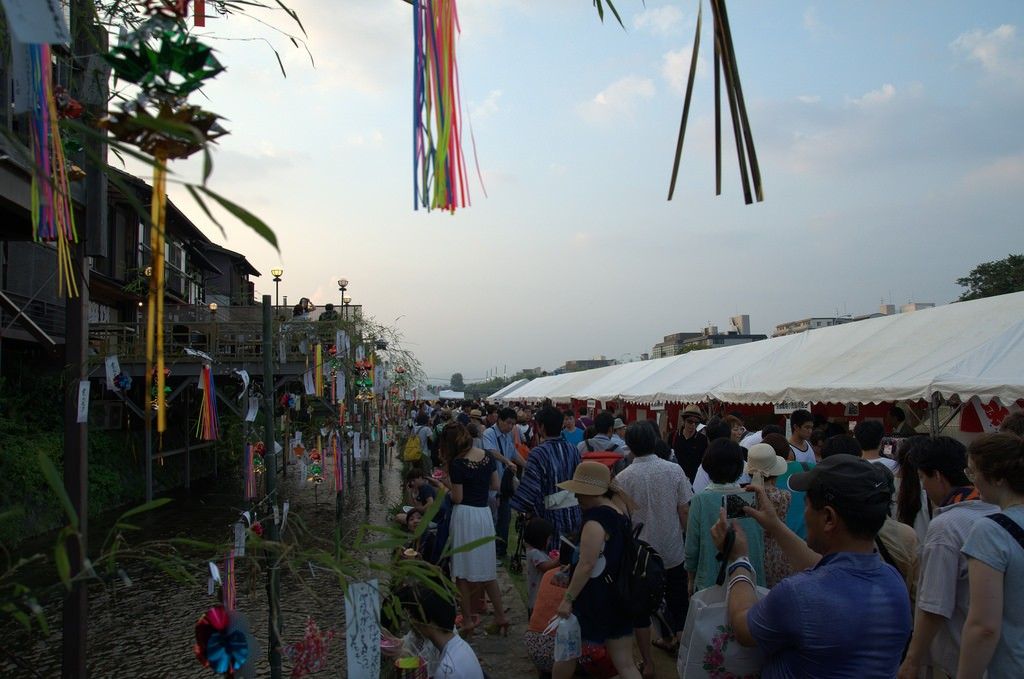Busy times at Festival Kamo River 2015