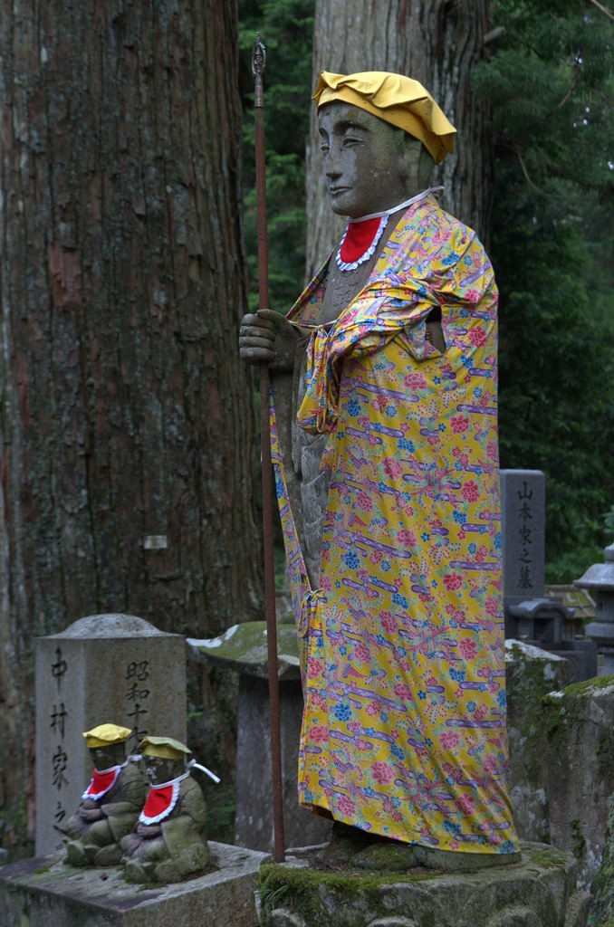 Colorful figure, Oku-no-in Koya-San