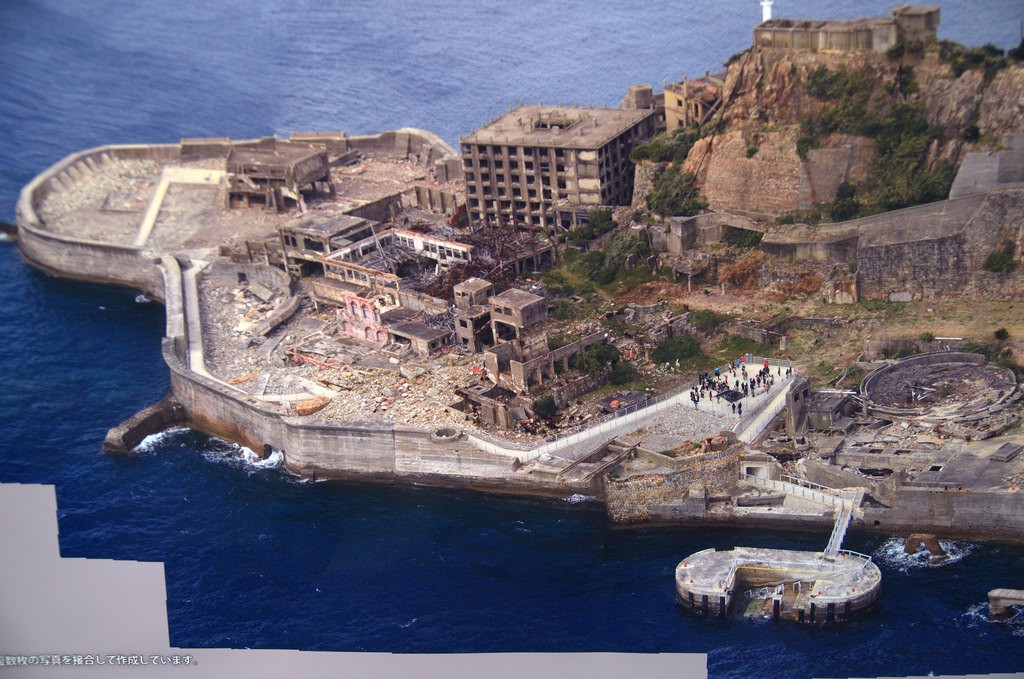 Gunkanjima walking route