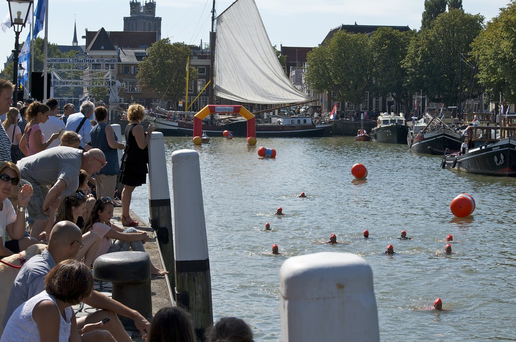 Kuipershaven, City Swim Dordrecht to Fight Cancer 2015