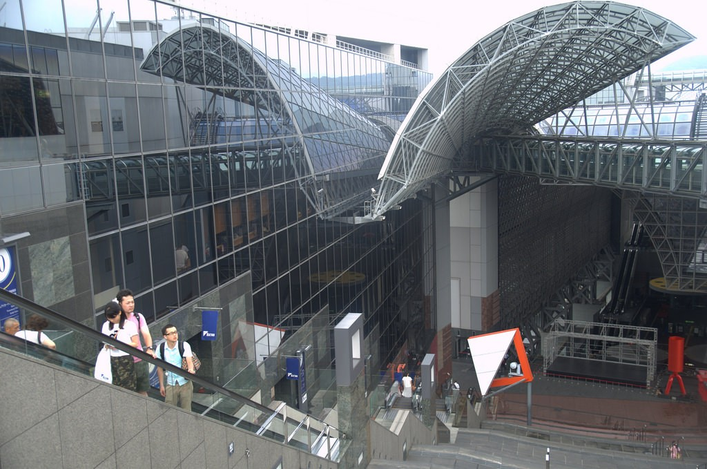 Kyoto Central Station Topview