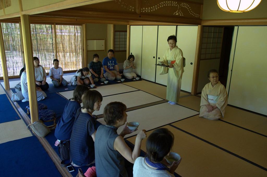 Tea ceramony Koko-en, Himeji