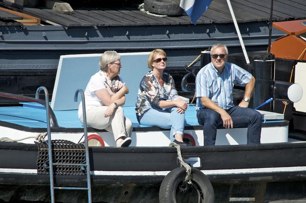 Toekijken op de boot