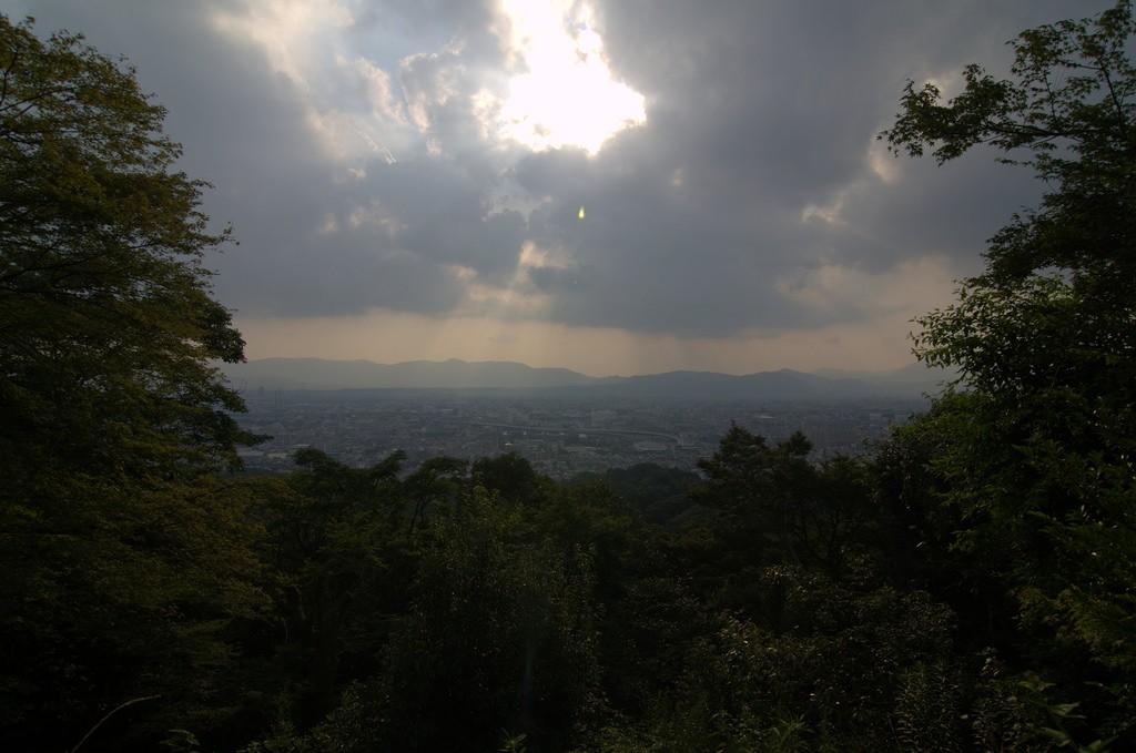 View of Kyoto from Fushimi Inari Shrine