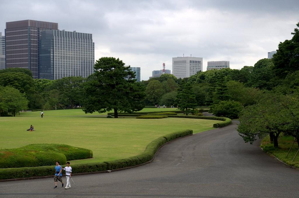 Imperial Palace Tokyo Big terrain