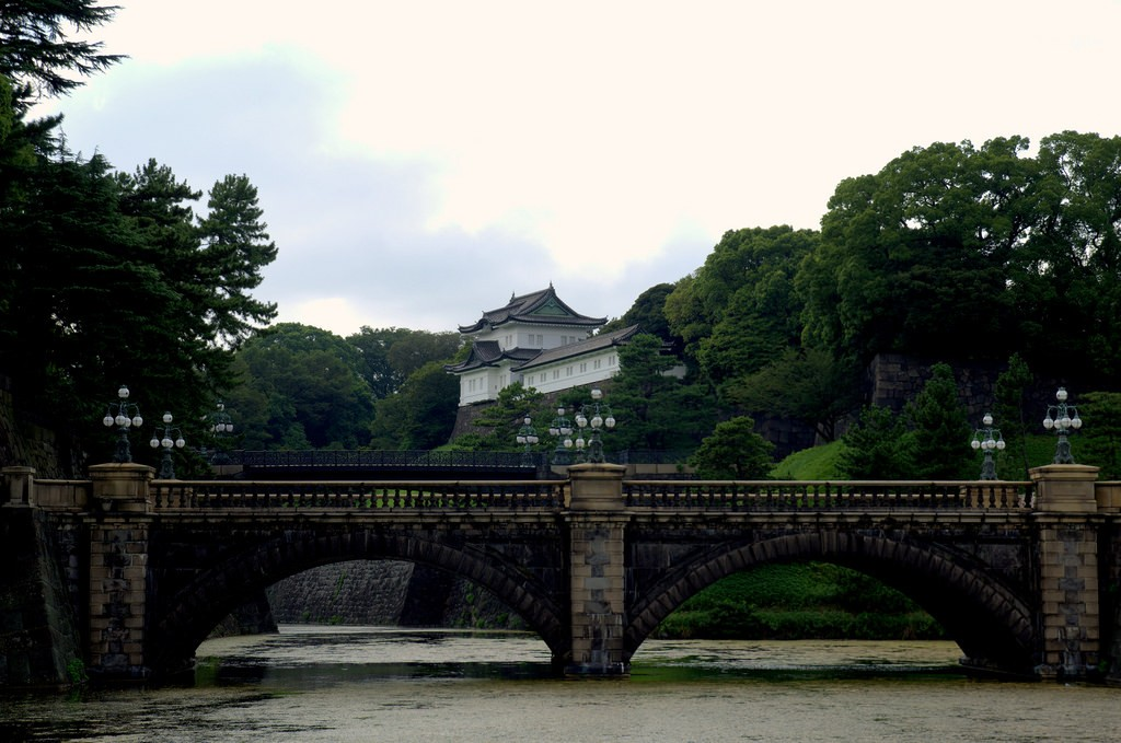 Imperial Palace Tokyo Famous view
