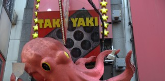Octopus Dotonbori Osaka