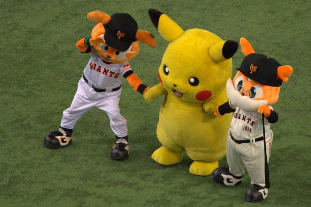 Pikachu in Tokyo Dome