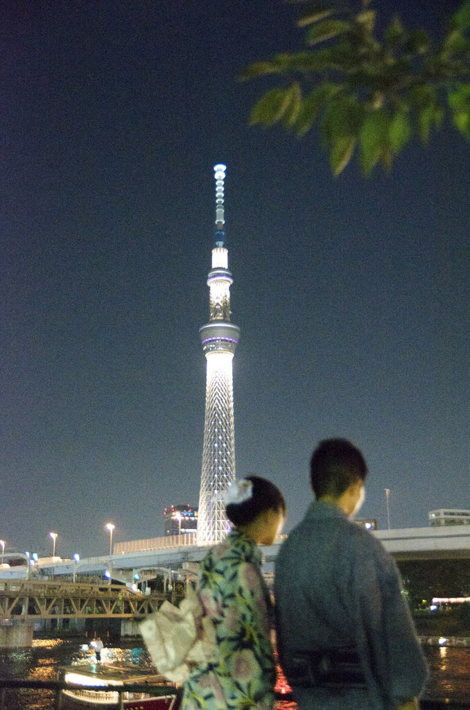 Floating Lantern Festival Tokyo with Tokyo Skytree