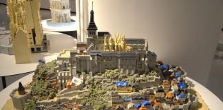 LEGO Mont Saint-Michel, France