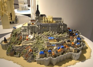 LEGO Mont Saint-Michel, France