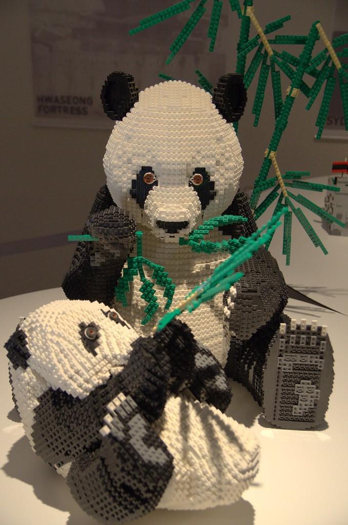 LEGO Sichuan Giant Panda Sanctuaries, China