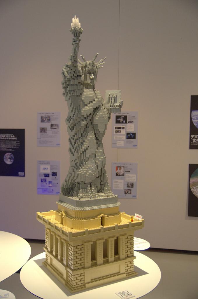 Vrijheidsbeeld Van Lego.Lego Gebouwen Van Unesco World Heritage Sights