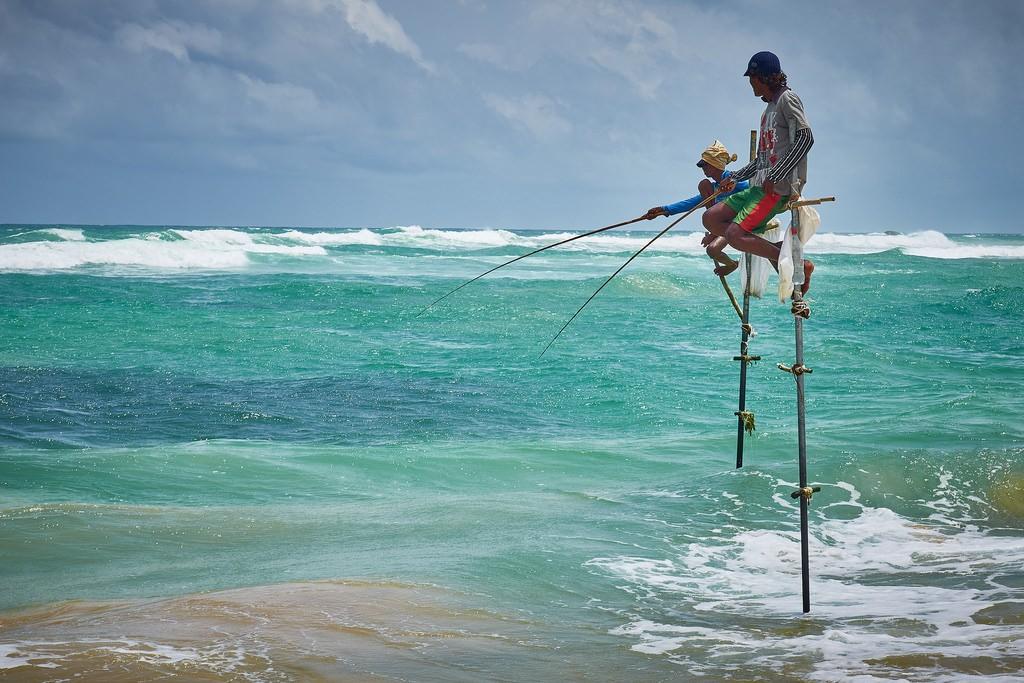Paalvissers Sri Lanka