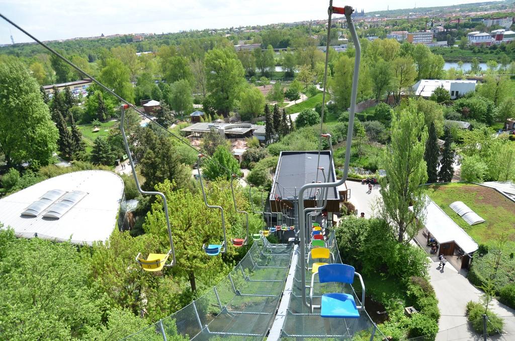 Kabelbaan dierentuin praag