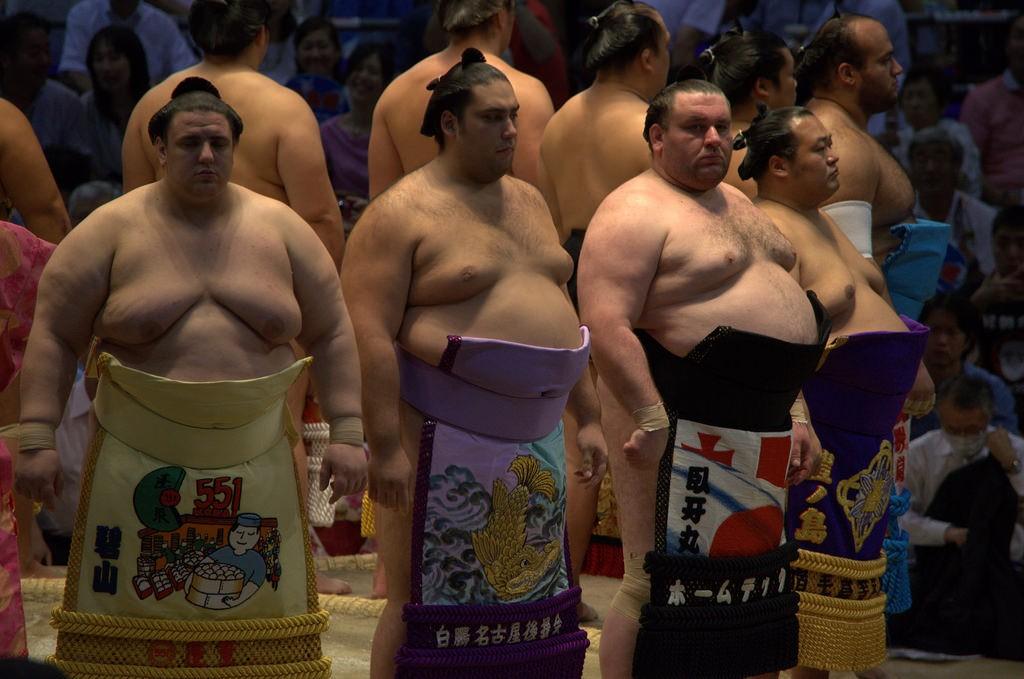 Makuuchi sumo