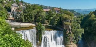 Waterval Jajce Bosnie en Herzegovina