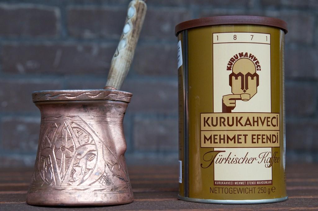 Cevze en Turkse koffie van Mehmet Efendi