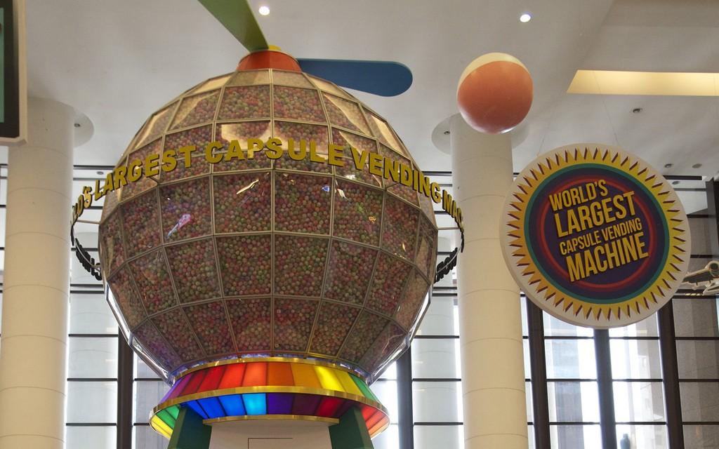 Werelds grootste snoepautomaat