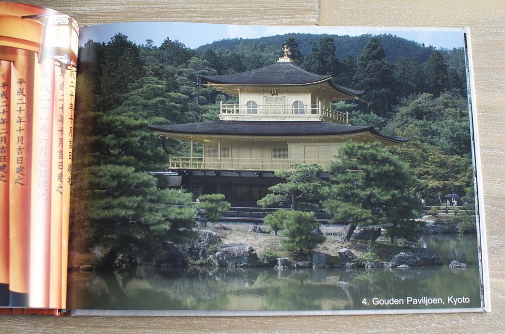 Fotoboek Japan Gouden Paviljoen