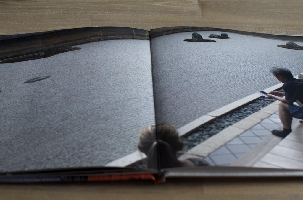 Fotoboek Japan rotsentuin