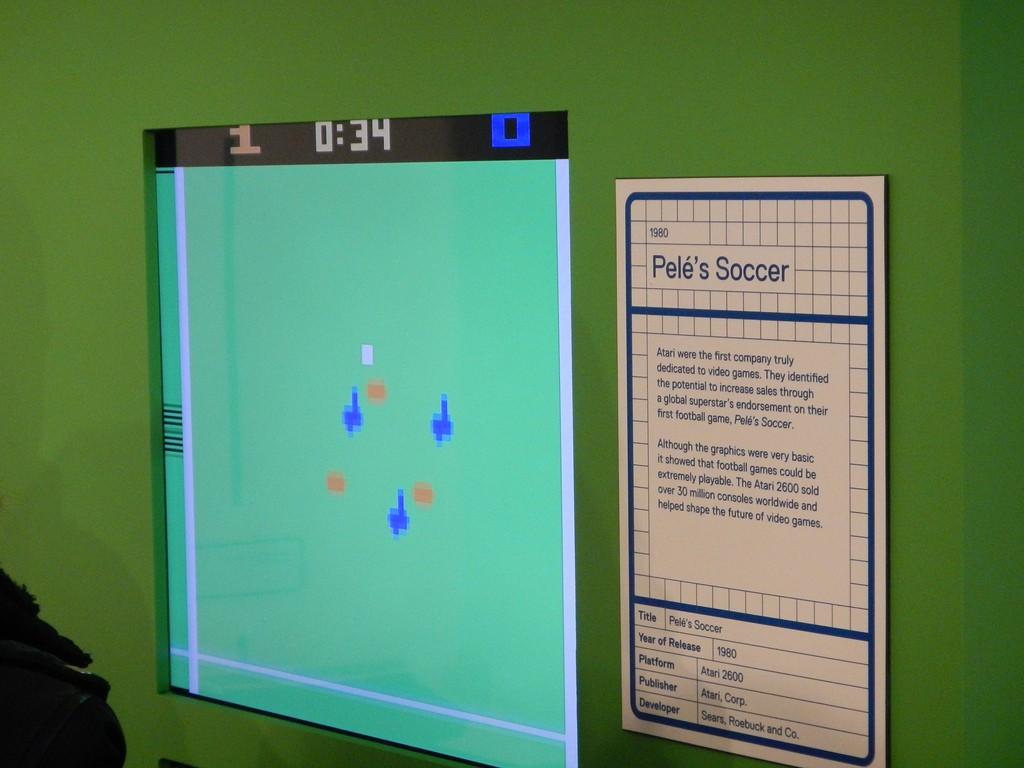Pele's Soccer oud voetbalspel